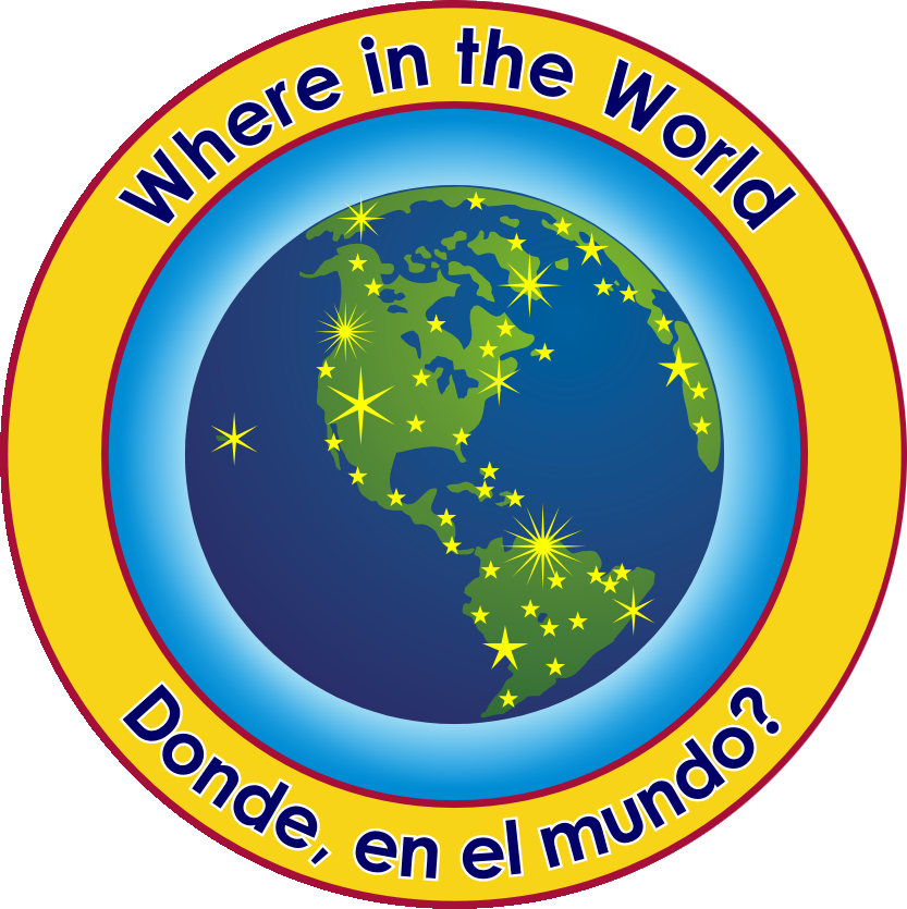 Where in the World Logo